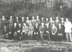 Staff at The Power House Katoomba